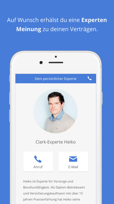 Clark - Versicherungen einfach verwalten Screenshot
