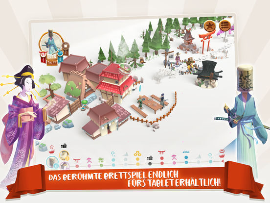 Tokaido™ iOS Screenshots