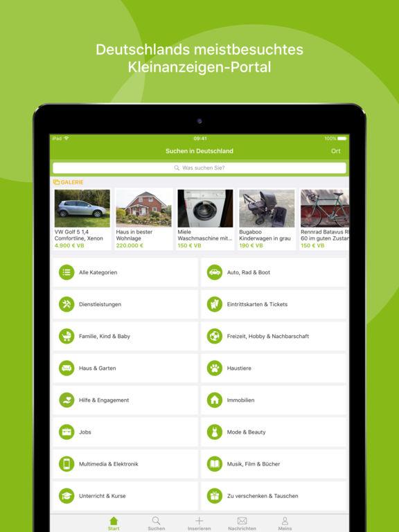 ebay kleinanzeigen kostenlos einfach lokal im app store. Black Bedroom Furniture Sets. Home Design Ideas