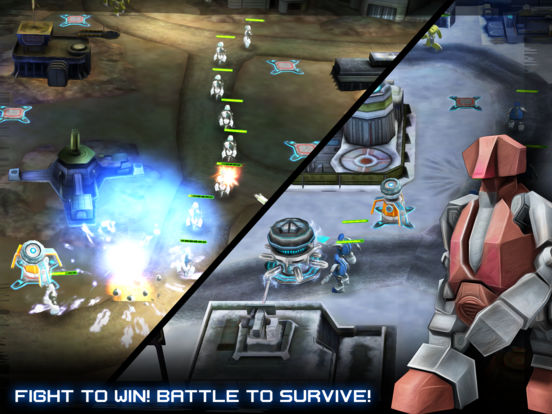 Screenshot 2 INTRUDERS: Robot Defense