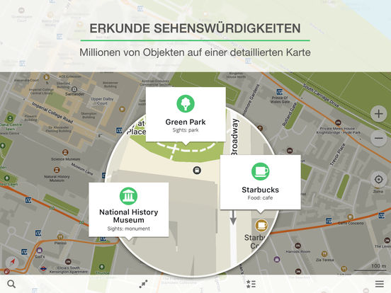 MAPS.ME Screenshot