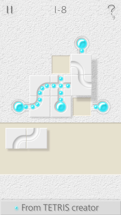 Pipe It Puzzle Challenge: Fill-Fit Tubes in Grid Screenshot
