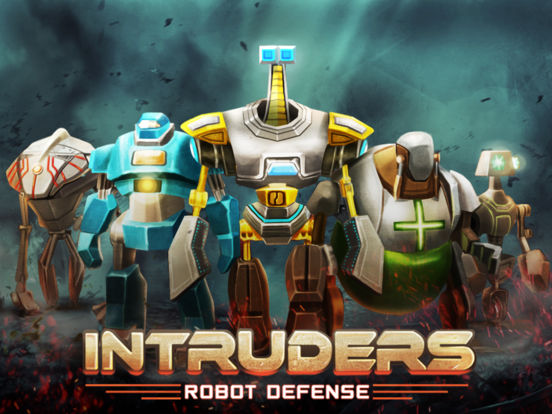 Screenshot 1 INTRUDERS: Robot Defense