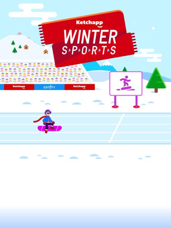 Screenshot 1 Ketchapp Winter Sports