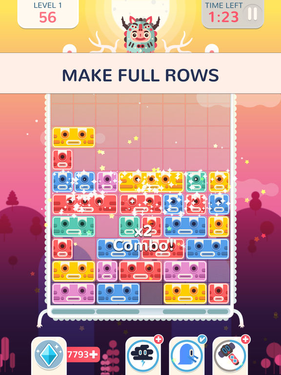 Screenshot 2 Slidey: Block Puzzle