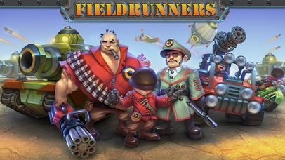 Fieldrunners iOS Screenshots