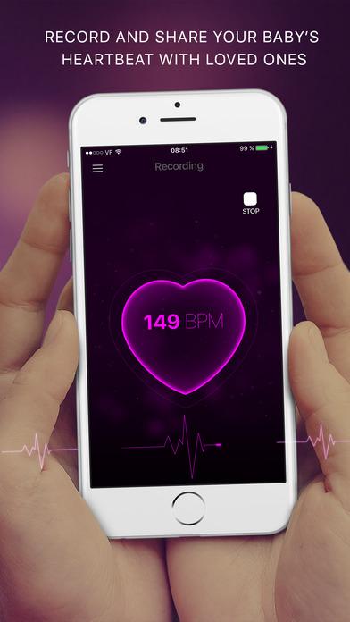 download Baby Heartbeat Monitor: Fetal Heart Beat Doppler appstore review
