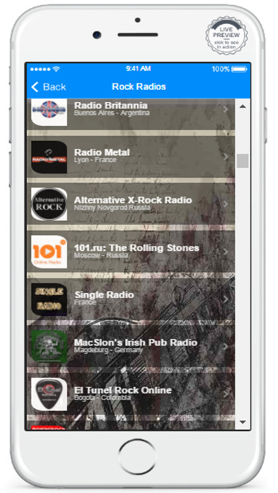 download Enjoy Rock Music With The Best Rock Radio Station appstore review