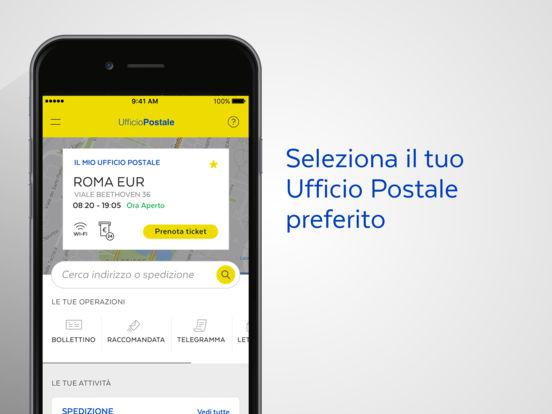 Ufficio Postale Screenshot
