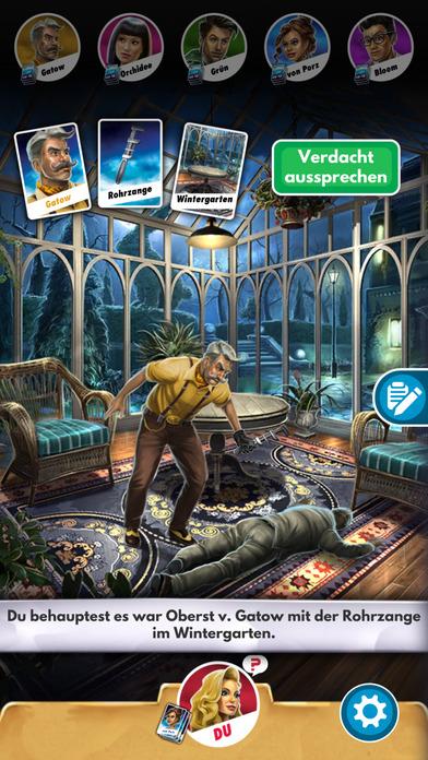 Cluedo: Das klassische Detektivspiel iOS Screenshots