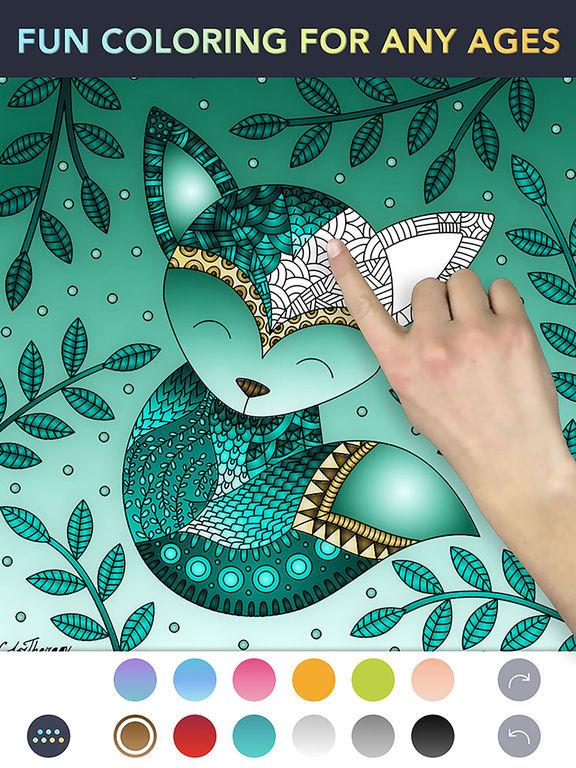 Color Therapy - libro da colorare per adulti Screenshot