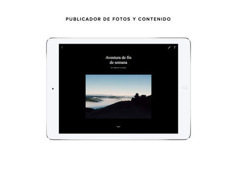 Captura de pantalla del iPad 4