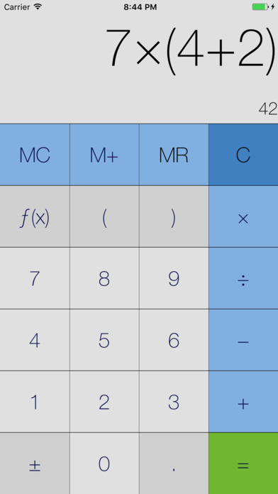 Mein Rechner (inklusive Währungsumrechnung) Screenshot
