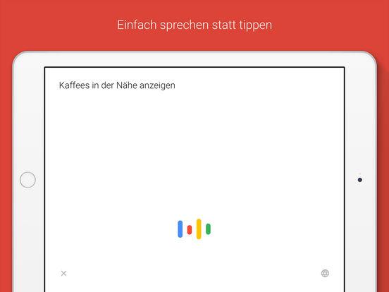 Google – die offizielle Suche-App Screenshot