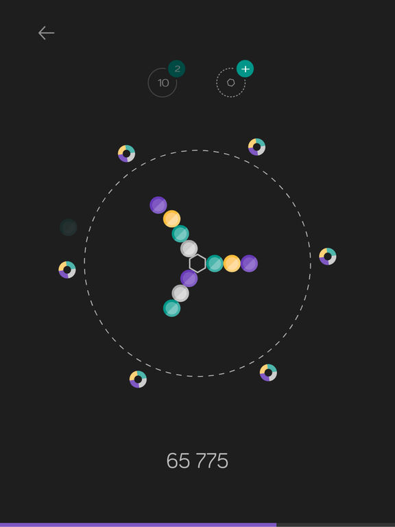 hexatized Bubble Shooter Screenshot