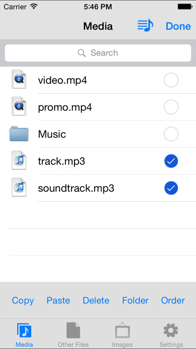 MyMedia - File Manager Screenshot