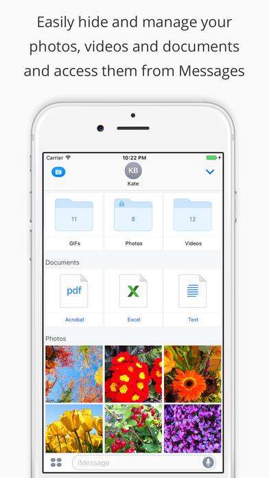 Pocket Files - Hide & lock photo, video, document Screenshot