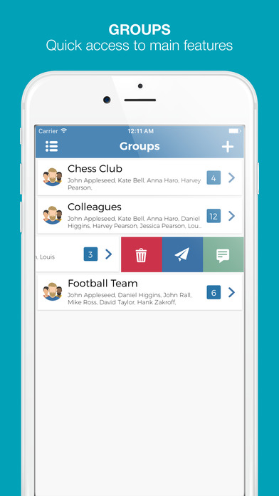 how to make text groups on iphone 5