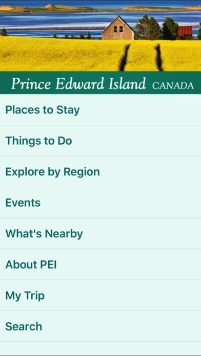 Prince Edward Island Guide Screenshot