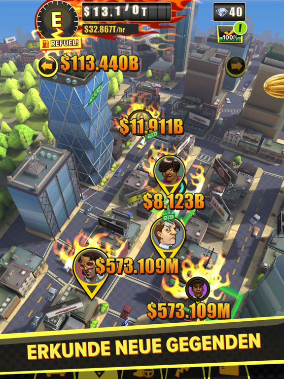 Screenshot 4 SEGA: Crazy Taxi Gazillionaire