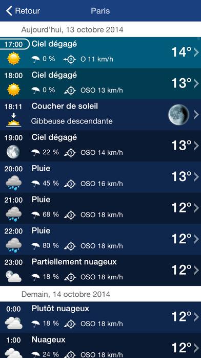 download Météo France et Météo Suisse XL  PRO apps 1