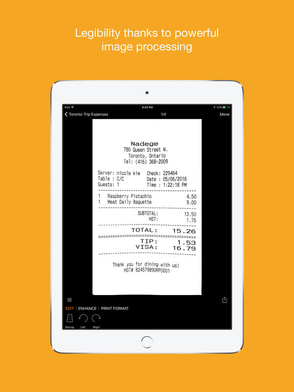 Genius Scan+ - PDF Scanner Screenshot