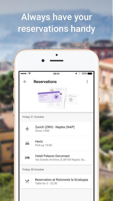Google Trips – Travel planner Screenshot