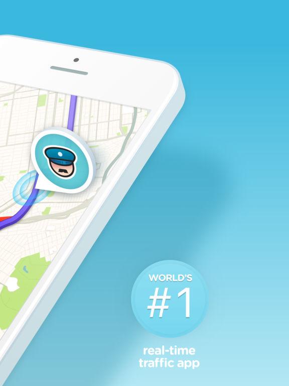 Waze - GPS, Maps, Traffic Alerts & Live Navigation Screenshot