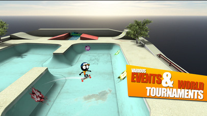 Screenshot 3 Stickman Skate Battle