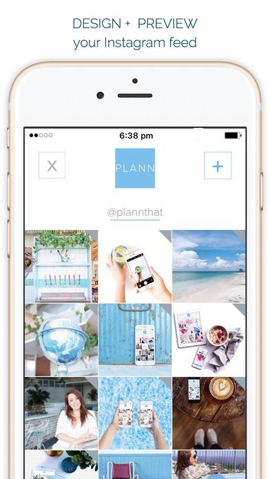 Plann - Visual planner and scheduler for Instagram Screenshot
