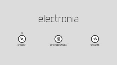 electronia iOS Screenshots