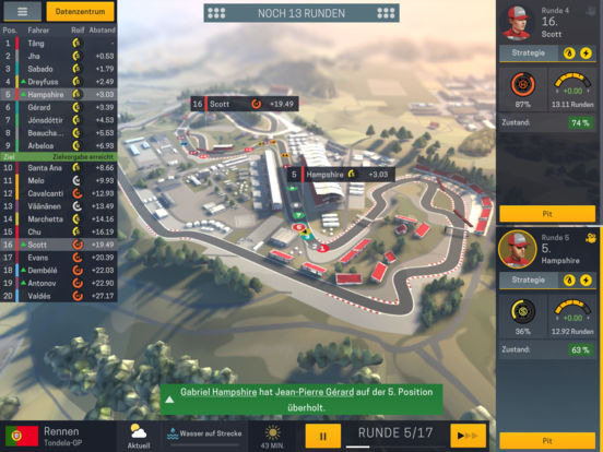 Screenshot 2 Motorsport Manager Mobile 2