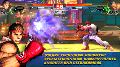 Street Fighter IV CE iOS Screenshots