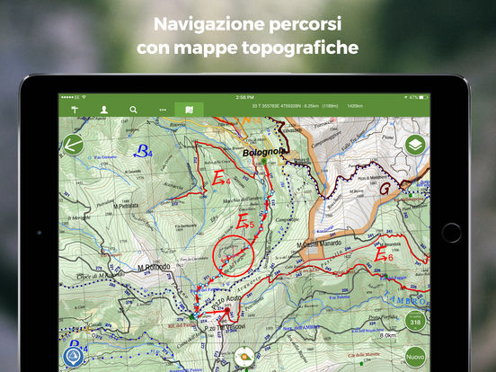 ViewRanger Percorsi di Escursionismo e ciclismo Screenshot