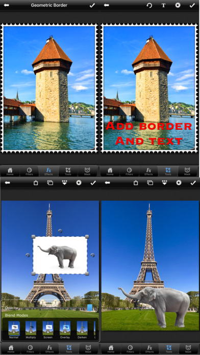 PhotoWizard-Photo Editor Screenshot