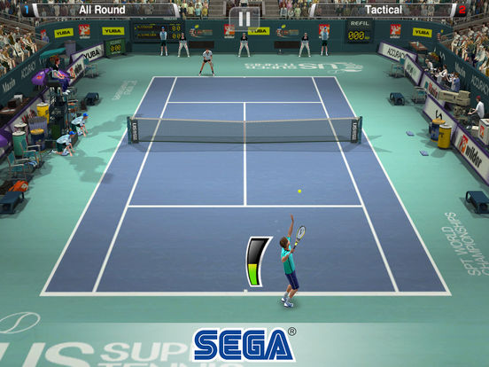 Screenshot 2 Virtua Tennis Challenge