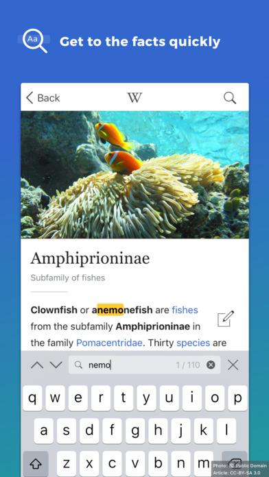 Wikipedia Screenshot