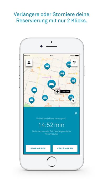 DriveNow Carsharing Screenshot