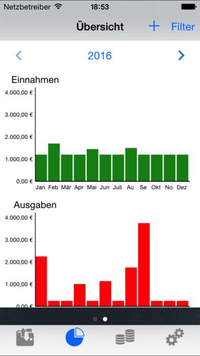 mein Budget - Ausgaben im Griff Screenshot
