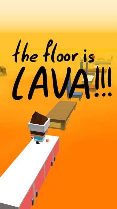 Screenshot 1 The Floor Is Lava
