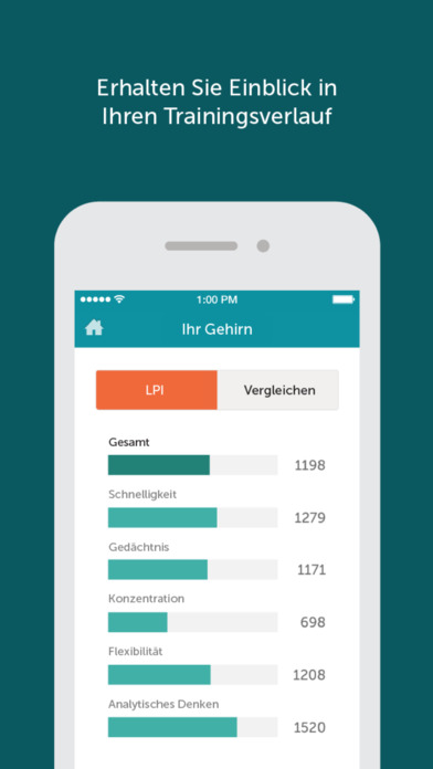 Lumosity - Gehirntraining Screenshot
