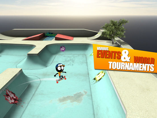 Stickman Skate Battle  Bild 3