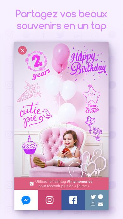 download Souvenirs de bambins - Éditeur photo de votre bébé apps 2