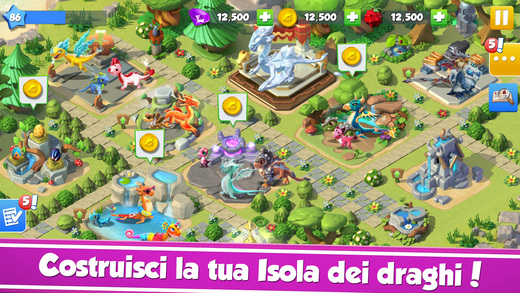 Dragon Mania Legends: Colleziona cuccioli di drago Screenshot