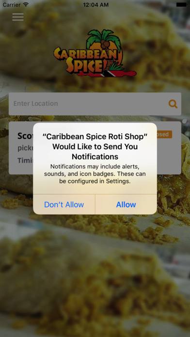 39 caribbean spice roti shop 39 in de app store for Aja asian cuisine nyc