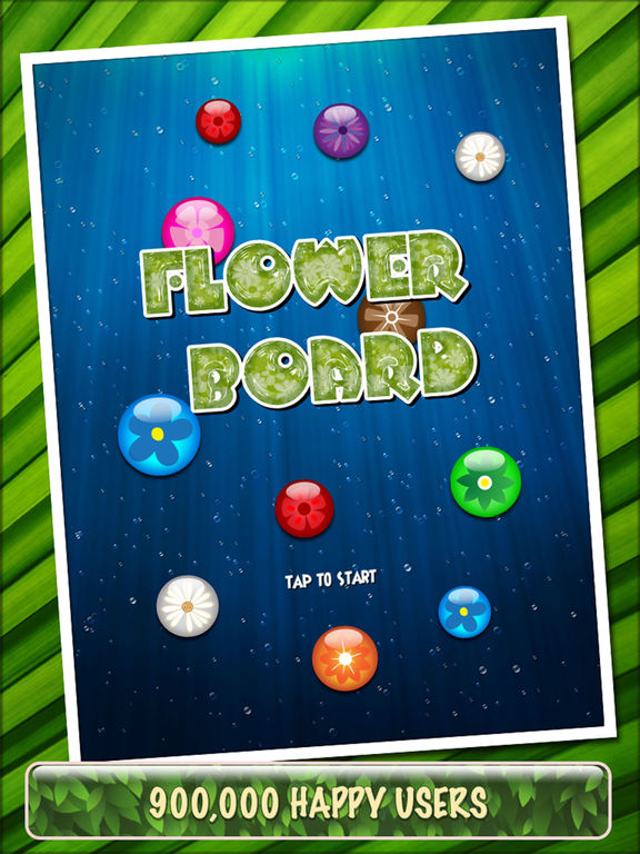 Flower Board HD - A relaxing puzzle game Screenshots