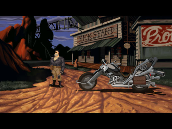 Full Throttle Remastered iOS Screenshots