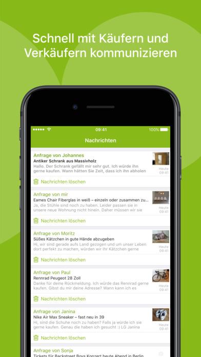 ebay kleinanzeigen sull 39 app store. Black Bedroom Furniture Sets. Home Design Ideas