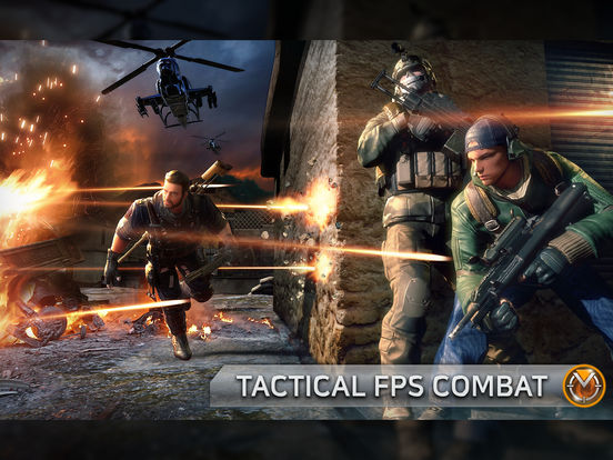Combat Squad - Online FPS iOS Screenshots