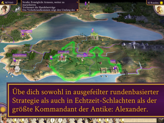 ROME: Total War - Alexander iOS Screenshots